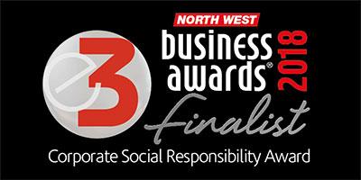 corporate social responsibility award finalist 2018