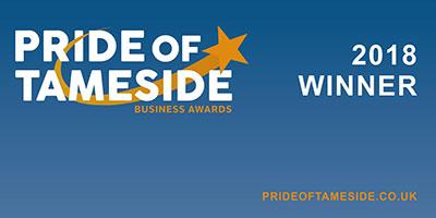 pride of tameside award winner 2018