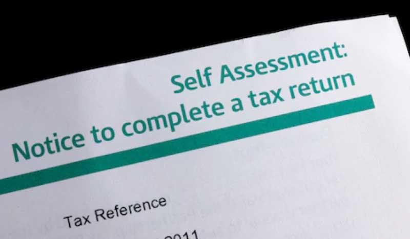 beware of self assessment scams