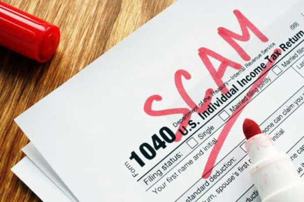 read about tax scam