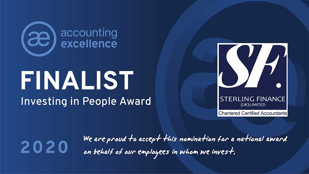 Team At Sterling Finance Acknowledges National Recognition By Accounting Excellence 2020